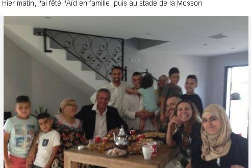Le maire de Montpellier célèbre la fin du Ramadan