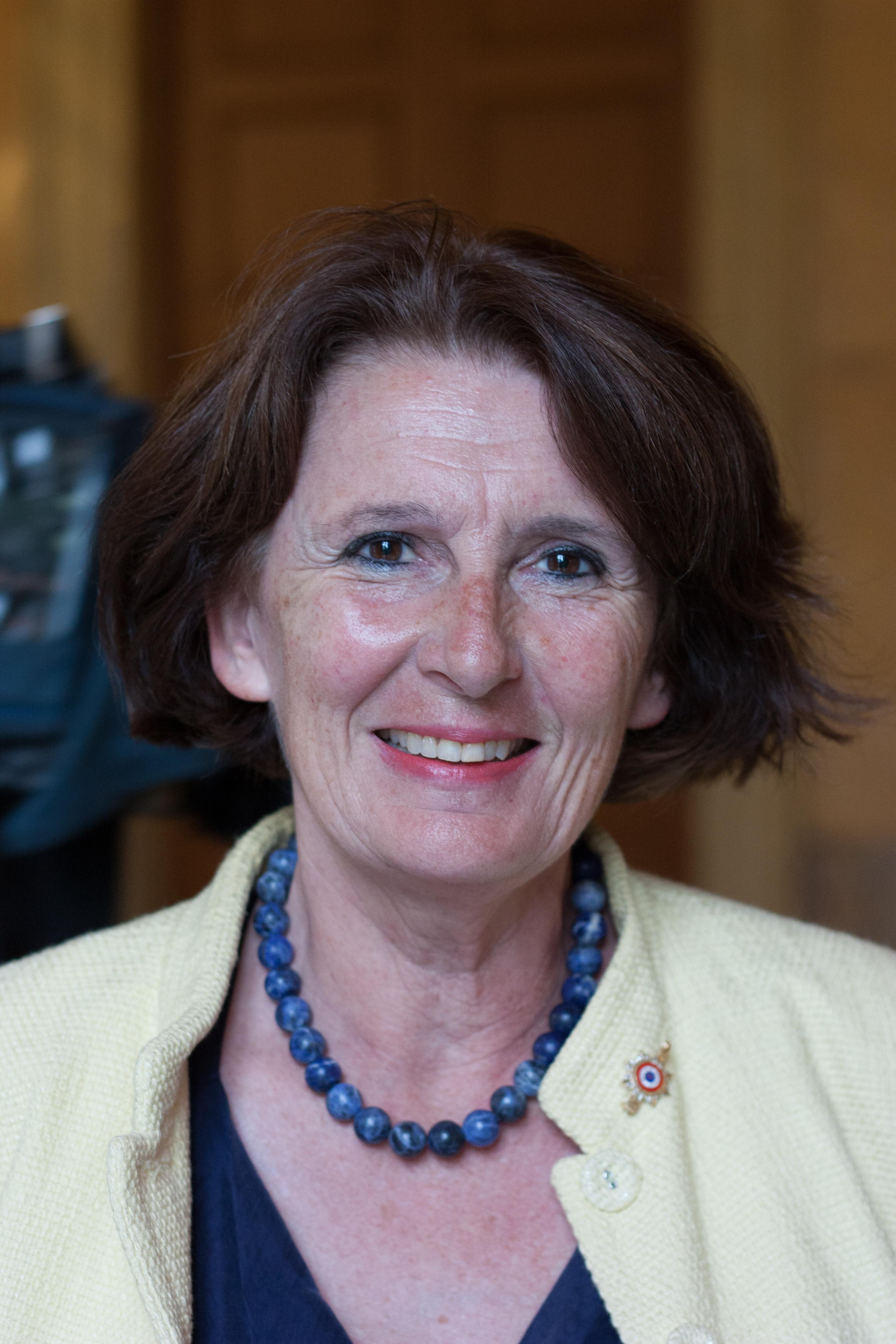 Anne-Yvonne <b>Le Dain</b> défend l'article 49.3 - DeputeXIVeLegVeRep-Anne-Yvonne_Le_Dain