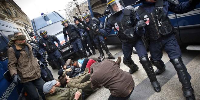 François Hollande à Carcassonne, 4 militants de La Manif Pour Tous arrêtés par la police