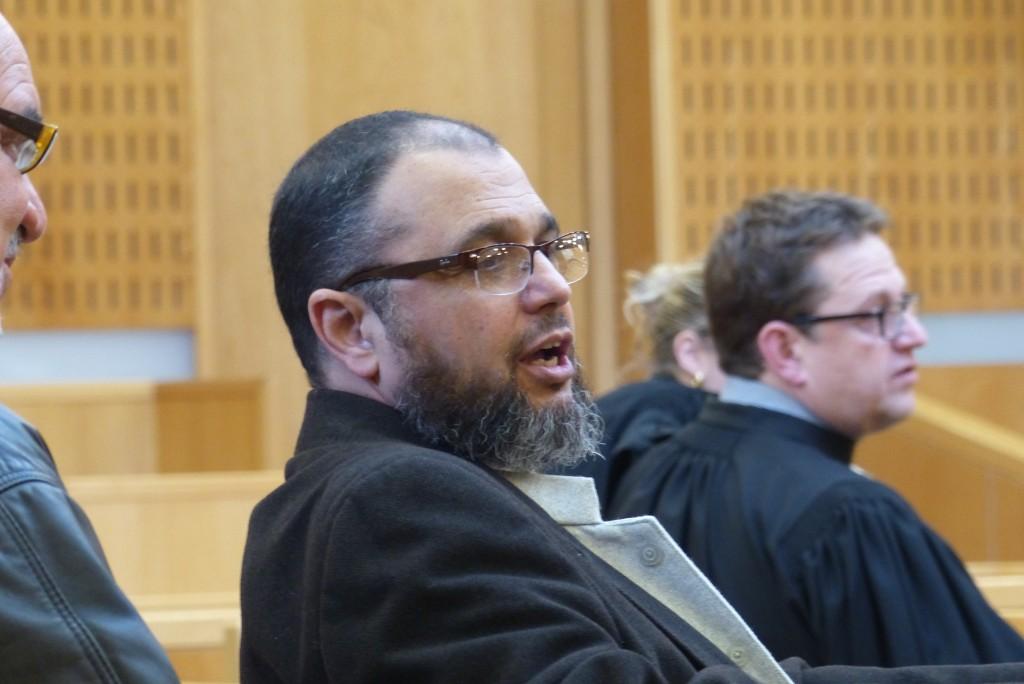 L'imam Mohamed Khattabi au tribunal de Montpellier