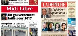 Midi Libre et la Dépêche présidés par la femme de Laurent Fabius (et ex-femme de Jean-Michel Baylet)