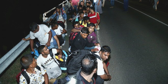 Migrants Monoblet Gard