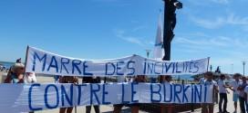 Succès pour la manifestation anti burkini à Palavas