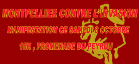 Deux manifestations anti et pro immigration ce samedi à Montpellier