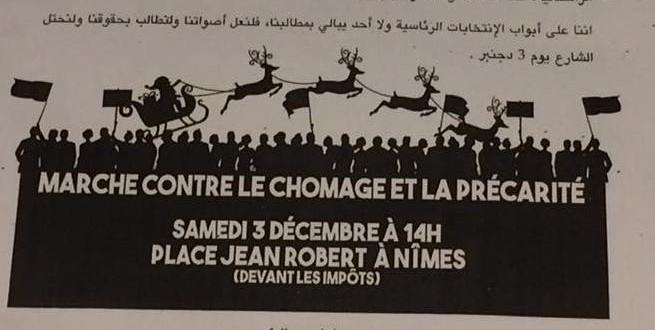 Nîmes. Des tracts de l'extrême gauche en langue arabe