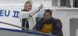 Le-Grau-du-Roi. Marine Le Pen aux côtés de marins-pêcheurs [Vidéo]