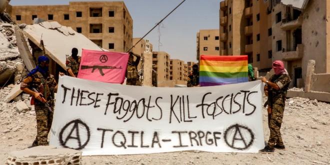 TQILA, une unité de gays antifascistes expulsée de Syrie?