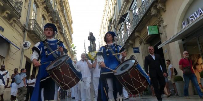 Des milliers de montpelliérains pour le 150 ème anniversaire du sanctuaire de Saint Roch