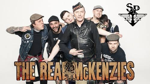 The Real McKenzies, les légendes du punk celtique en concert à Saint Jean de Vedas