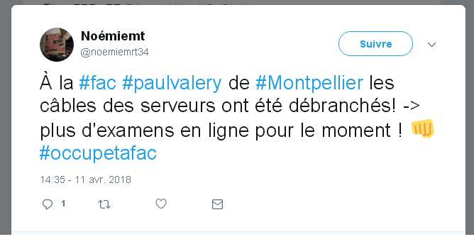 Les serveurs de l'université Paul-Valéry vandalisés, les examens menacés — Montpellier