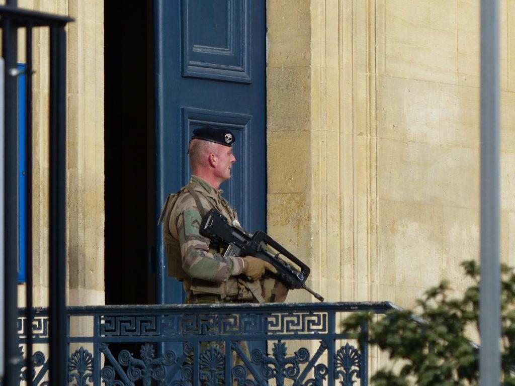 menace islamiste soldat Sentinelle
